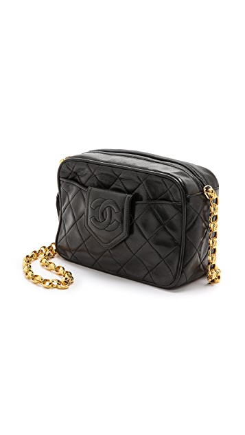 What Goes Around Comes Around Chanel Tassel Camera Bag
