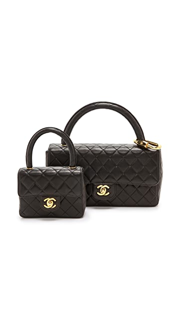 What Goes Around Comes Around Chanel Double Bag Set