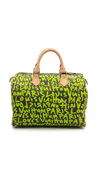 What Goes Around Comes Around Louis Vuitton Sprouse Speedy Bag