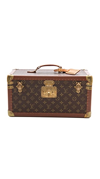 What Goes Around Comes Around Louis Vuitton Monogram Vanity Trunk