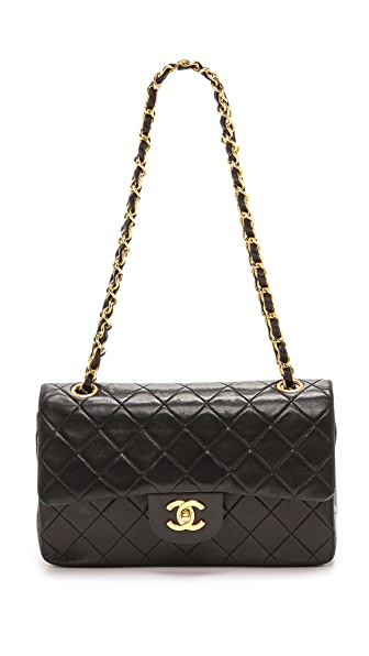 What Goes Around Comes Around Chanel 2.55 Bag - Black