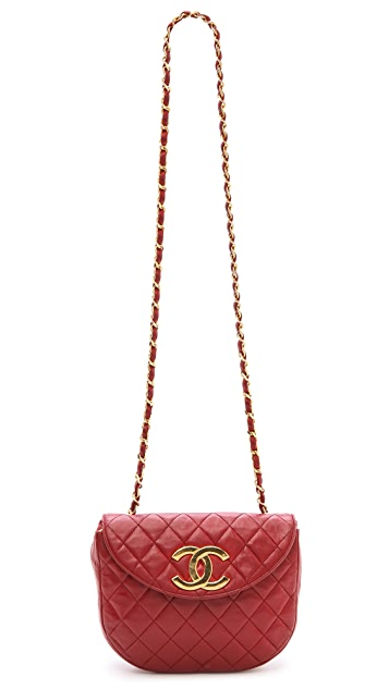 What Goes Around Comes Around Chanel Round Flap Bag