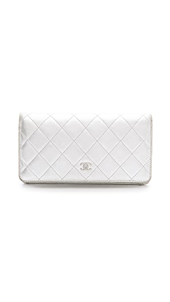 What Goes Around Comes Around Chanel Metallic Wallet