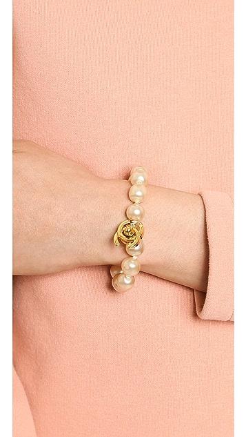 What Goes Around Comes Around Vintage Chanel CC Lock Bracelet