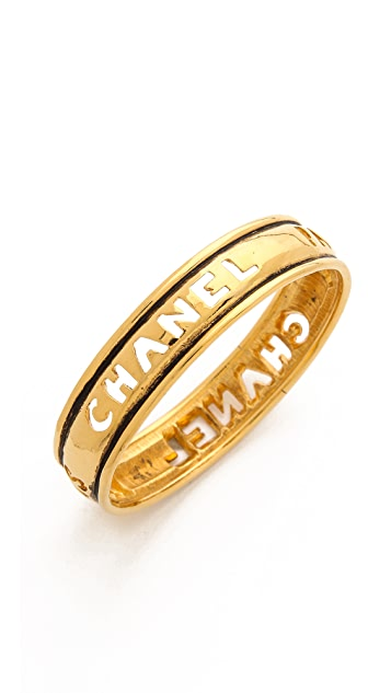 What Goes Around Comes Around Vintage Chanel Bangle Bracelet