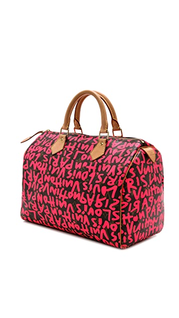 What Goes Around Comes Around Vintage LV Sprouse Graffiti Speedy Bag