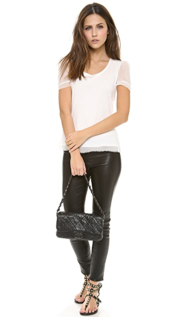What Goes Around Comes Around Vintage Chanel Caviar Curb Chain Bag