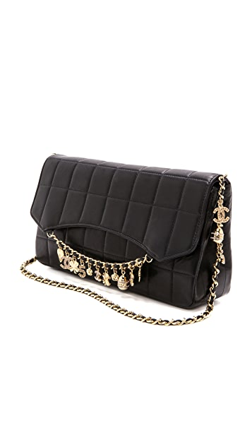 What Goes Around Comes Around Vintage Chanel Charms Bag