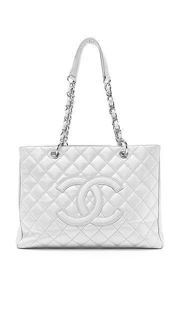 What Goes Around Comes Around Vintage Chanel Metallic Caviar Bag