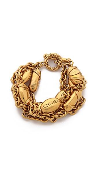 What Goes Around Comes Around Vintage Chanel Buoys Bracelet