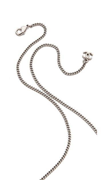 What Goes Around Comes Around Vintage Chanel Rhinestone Necklace