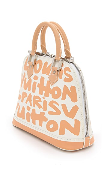 What Goes Around Comes Around Louis Vuitton Sprouse Alma Bag