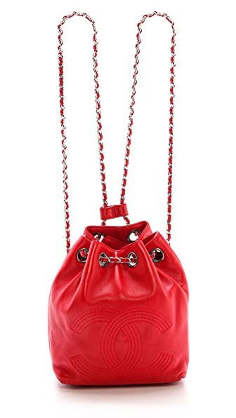 What Goes Around Comes Around Chanel Mini Bucket Backpack
