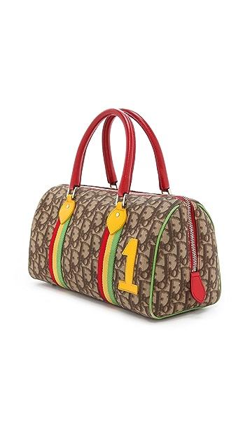 What Goes Around Comes Around Dior Rasta Boston Bag