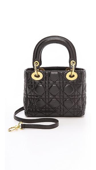 What Goes Around Comes Around Dior Lady Dior Mini Bag