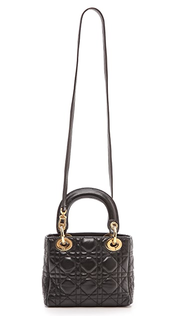 What Goes Around Comes Around Dior Lady Dior Mini Bag