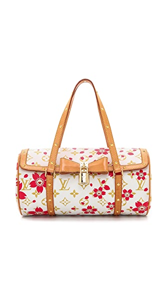 What Goes Around Comes Around Murakami Blossom Papillon Bag