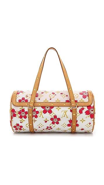 What Goes Around Comes Around Murakami Blossom Papillon Bag
