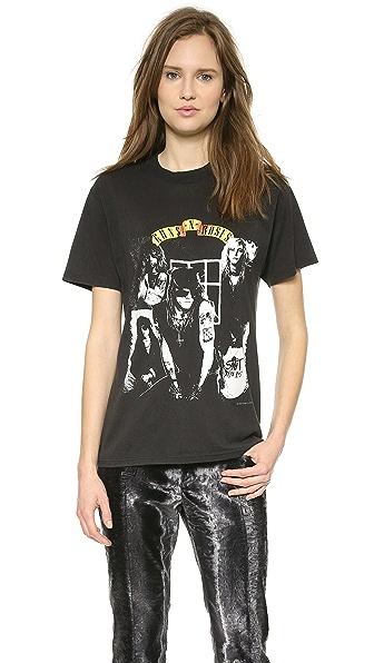 What Goes Around Comes Around Guns N Roses 88 Rare Graphic Tee