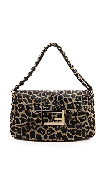 What Goes Around Comes Around Fendi Leopard Mama Forever Bag