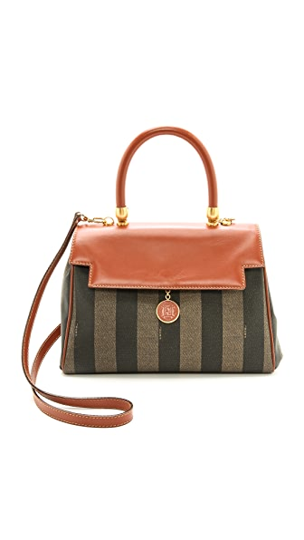 What Goes Around Comes Around Fendi Striped Bag