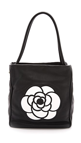 What Goes Around Comes Around Chanel Camellia Tote