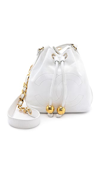 What Goes Around Comes Around Chanel CC Bucket Bag
