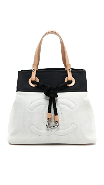 What Goes Around Comes Around Chanel Canvas Tote