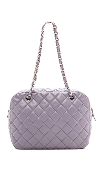 What Goes Around Comes Around Chanel Quilted Jumbo Bag