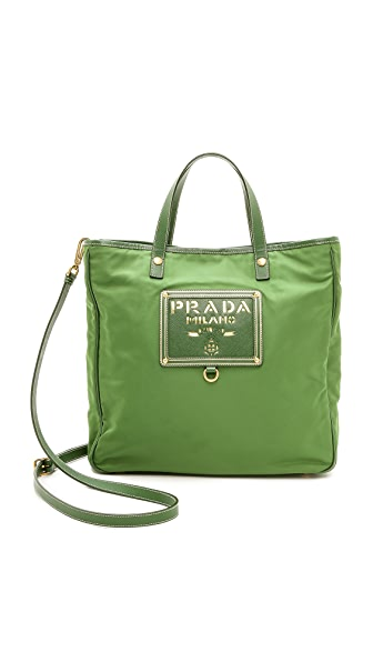 What Goes Around Comes Around Prada Nylon Tote