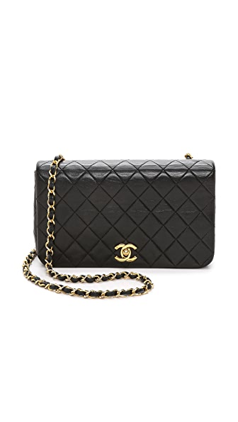 What Goes Around Comes Around Chanel Full Flap Bag (Previously Owned) - Black