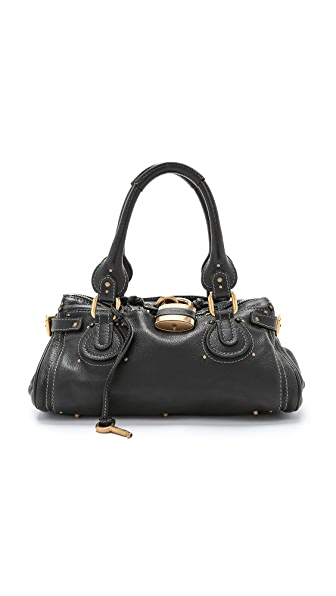 What Goes Around Comes Around Chloe Medium Paddington Bag (Previously Owned) - Black