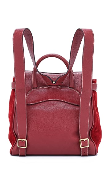 What Goes Around Comes Around Gucci Stirrup Backpack