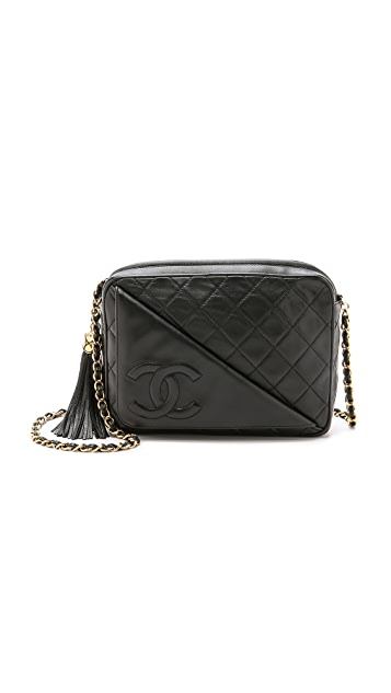 What Goes Around Comes Around Chanel Diagonal Pocket Camera Bag
