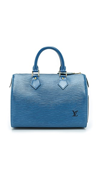 What Goes Around Comes Around Louis Vuitton Epi Speedy 25 Bag - Blue