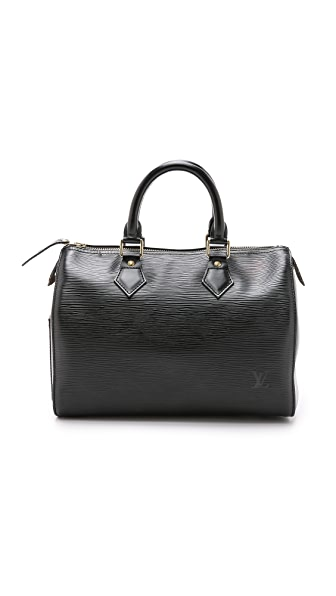 What Goes Around Comes Around Louis Vuitton Epi Speedy 25 Bag (Previously Owned) - Black