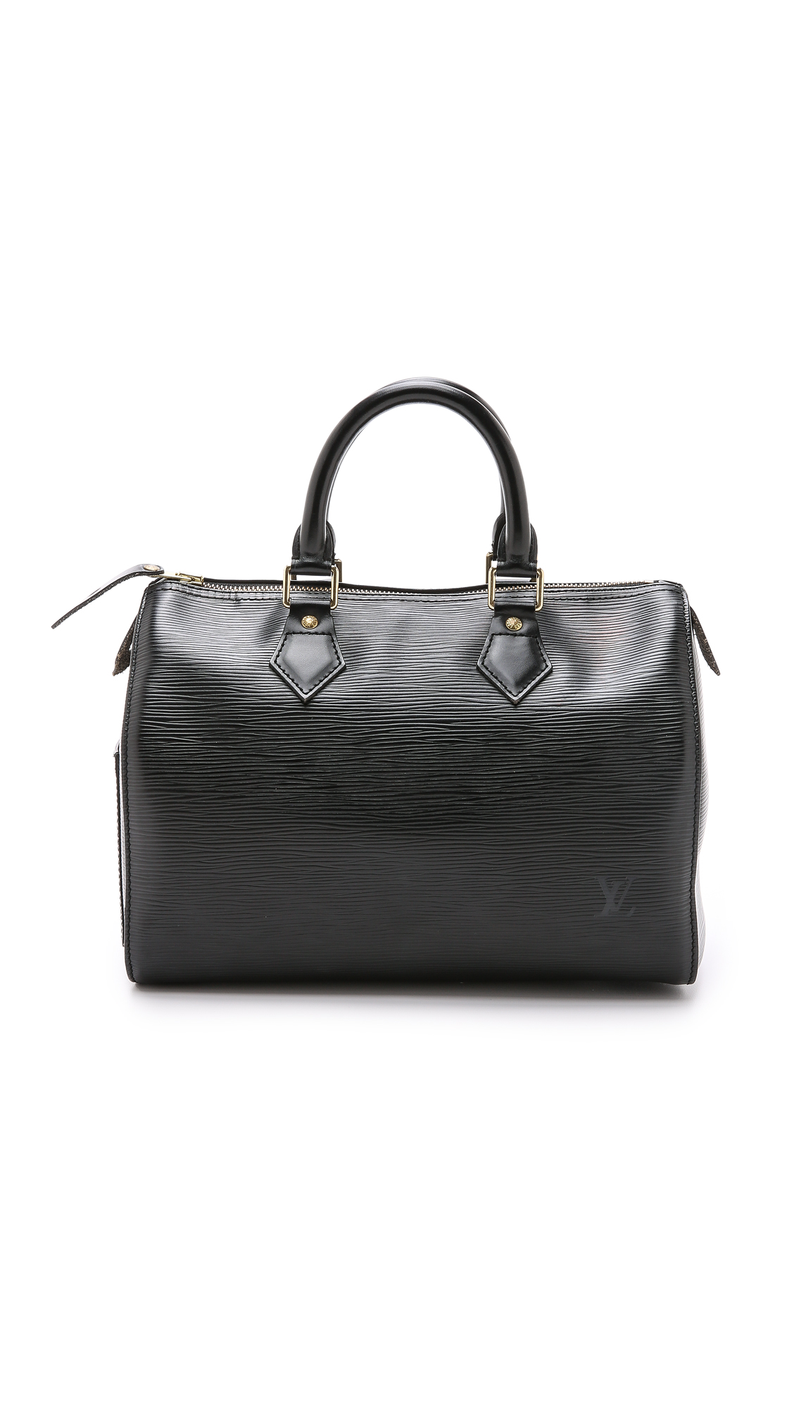 what goes around comes around female 188971 what goes around comes around louis vuitton epi speedy 25 bag previously owned black