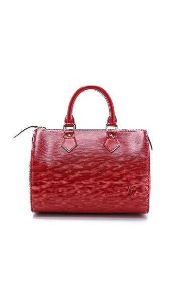 What Goes Around Comes Around Louis Vuitton Epi Speedy 25 Bag - Red