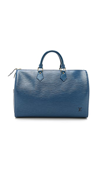 What Goes Around Comes Around Louis Vuitton Epi Speedy 40 Bag (Previously Owned) - Blue