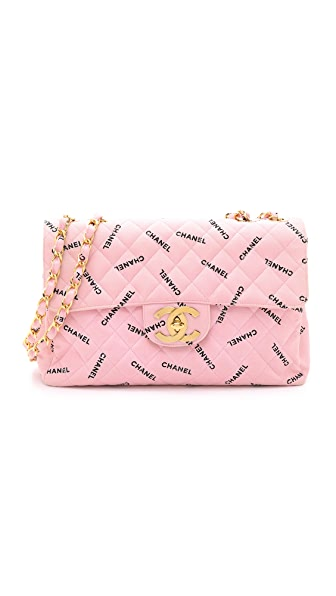 What Goes Around Comes Around Chanel Half Flap Maxi Bag (Previously Owned) - Pink