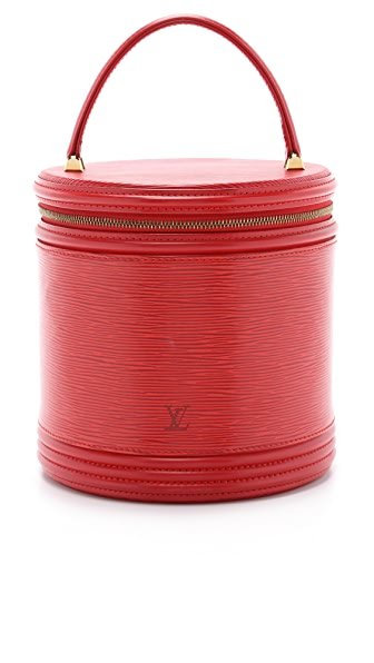 What Goes Around Comes Around Heritage Louis Vuitton Cannes Vanity Bag - Red