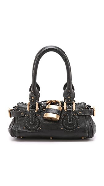 What Goes Around Comes Around Chloe Paddington Bag (Previously Owned) - Black