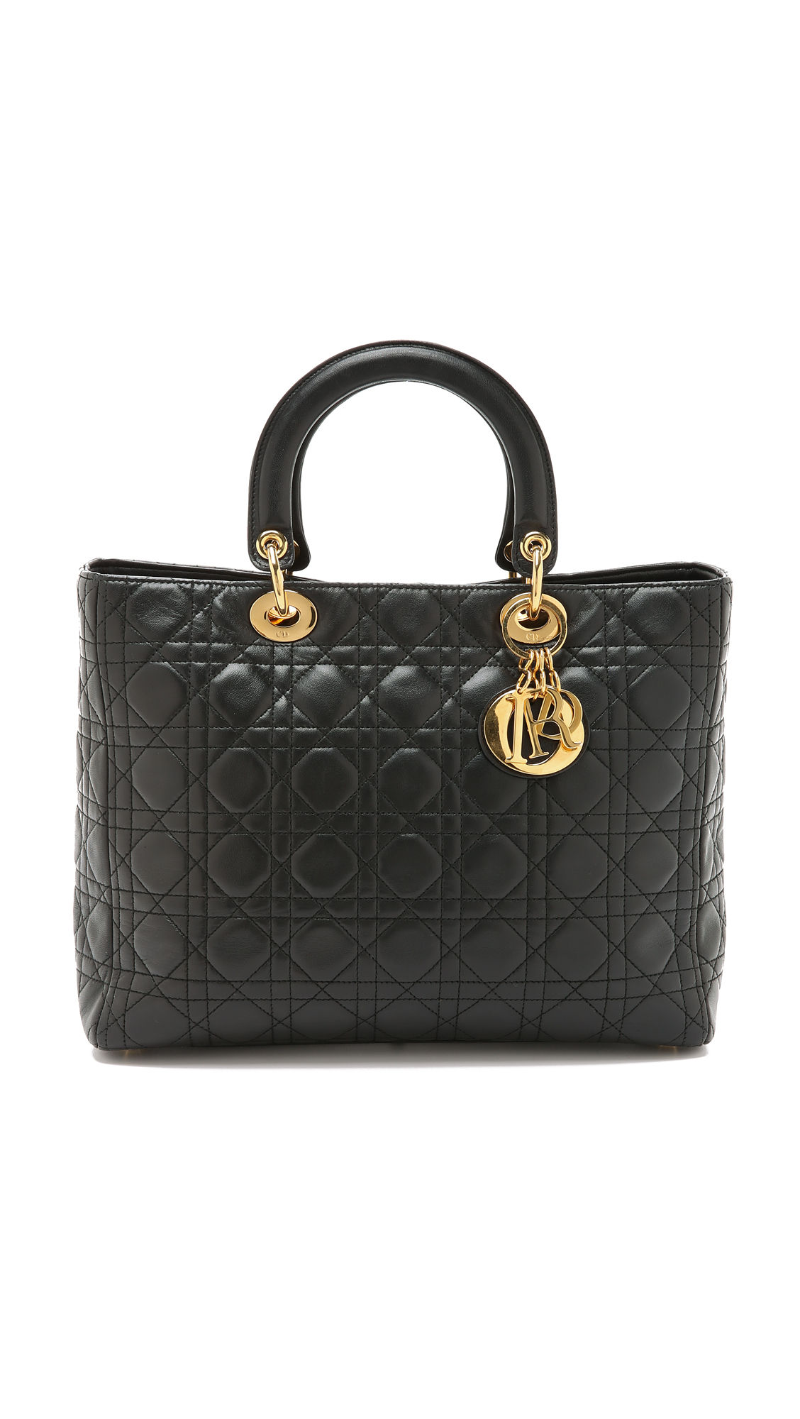 what goes around comes around female what goes around comes around dior lady dior bag black