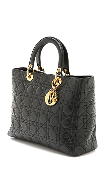 What Goes Around Comes Around Dior Lady Dior Bag