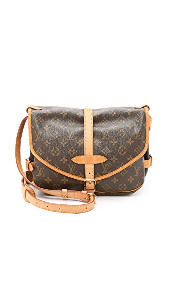 What Goes Around Comes Around Louis Vuitton Monogram Saumur 30 Bag (Previously Owned) In Monogram
