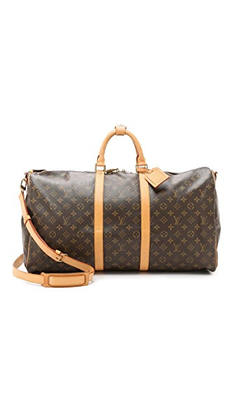 What Goes Around Comes Around Heritage Louis Vuitton Monogram Keepall 55 Bag - Monogram