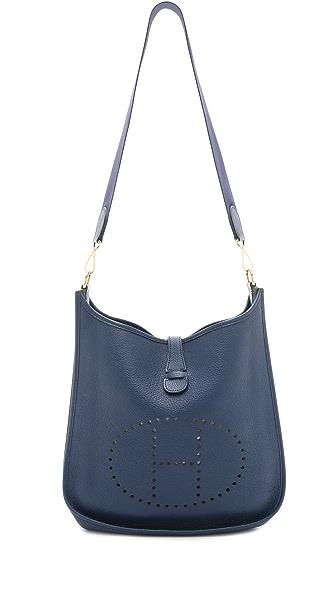What Goes Around Comes Around Hermes Buffalo Evelyne I GM Bag ...