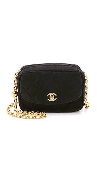 What Goes Around Comes Around Chanel Suede Camera Bag (Previously Owned)