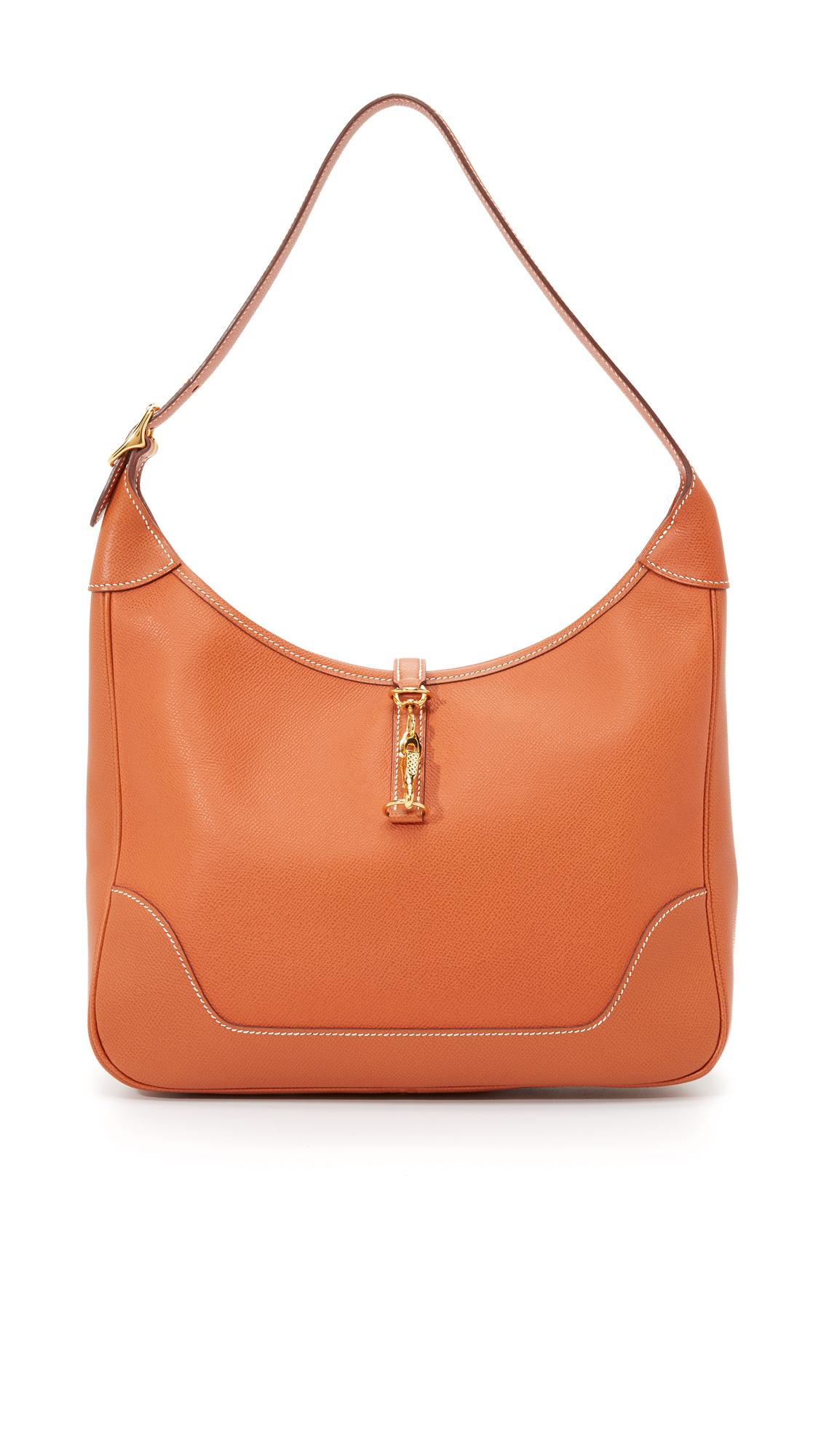 what goes around comes around female what goes around comes around hermes epsom bag previously owned brown