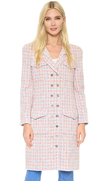 What Goes Around Comes Around Chanel Coat (Previously Owned) - Multi